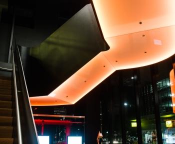 Hotel,<br> Adelaide, SA<br>Custom Toughened Translucent Laminated (Backlit)