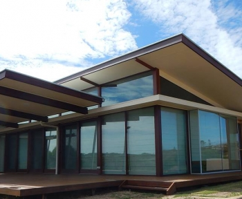 Adelaide Residential, SA<br>Chevron Insulated Glass Unit - 6mm Cardinal LoĒ<sup>3</sup> - 366 on 6mm Clear Toughened + 12mm Air space + 6mm Clear Toughened